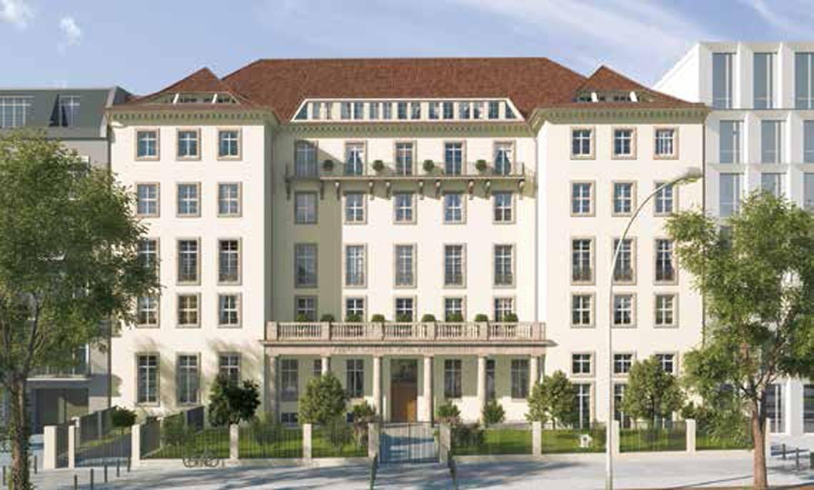 Ottilie-von-Hansemann-Haus-Frontansicht